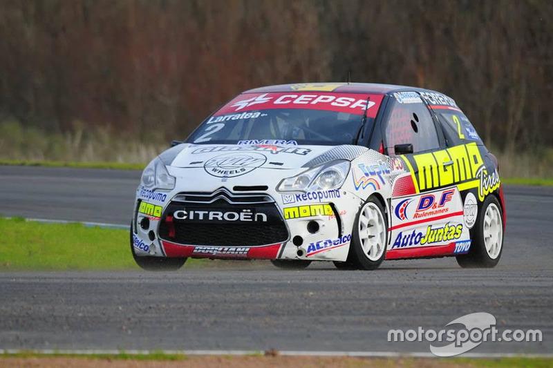Fabricio Larratea, Citroën DS3