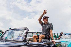 Stoffel Vandoorne, McLaren pilotlar geçit töreni
