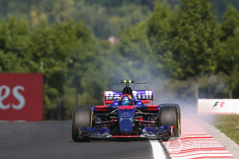 Verbremser: Carlos Sainz Jr., Scuderia Toro Rosso STR12