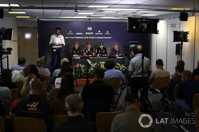 Stoffel Vandoorne, McLaren, Max Verstappen, Red Bull Racing, Sergio Pérez, Force India, Kevin Magnus