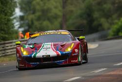 #71 AF Corse Ferrari 488 GTE: Давіде Рігон Сем Бьорд, Мігель Моліна