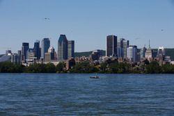The Montreal skyline