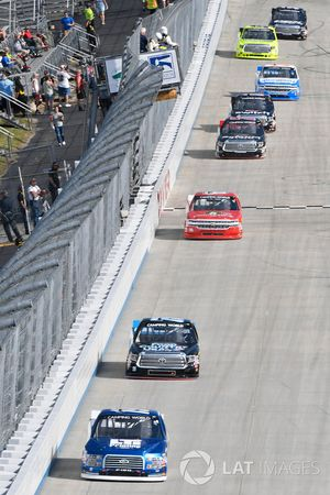 Austin Cindric, Brad Keselowski Racing, Ford; Parker Kligerman, Henderson Motorsports, Toyota