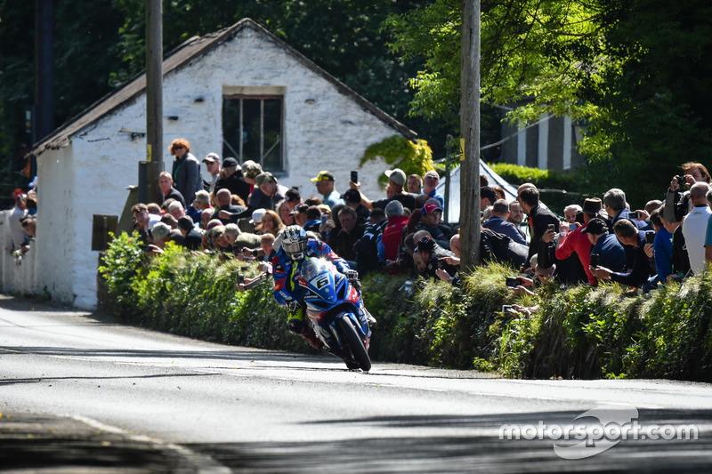 Senior TT: 1. Platz - Michael Dunlop, Bennetts Suzuki