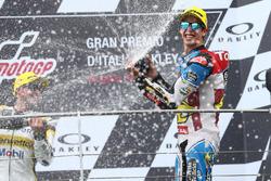 third place Alex Marquez, Marc VDS
