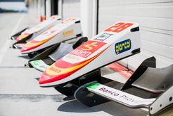Campos Racing front nosecones