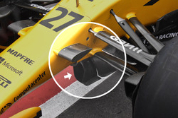 Renault Sport F1 Team RS17, front detail