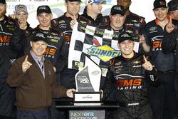 Ganador de la carrera Kaz Grala, GMS Racing Chevrolet en Victor Lane