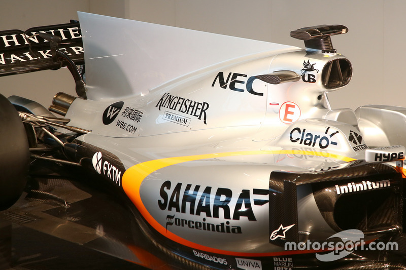 Sahara Force India VJM10, detail