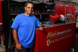 Juan Pablo Montoya, Risi Competizione