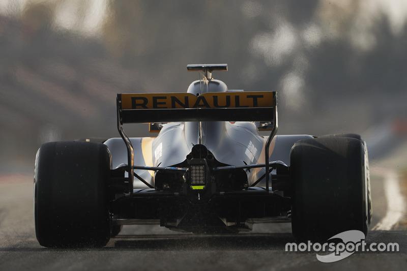 Lundi : Nico Hulkenberg, Renault Sport F1 Team