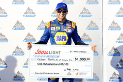 Polesitter Chase Elliott, Hendrick Motorsports Chevrolet