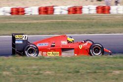 Michele Alboreto, Ferrari F186