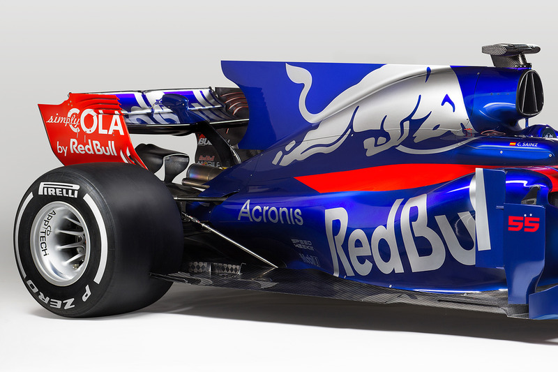 The Toro Rosso STR12 rear detail