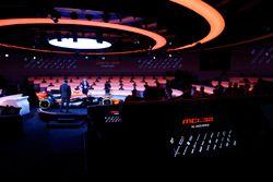 Zak Brown, Executive Director of McLaren Technology Group, talks to presenter Simon Lazenby on stage