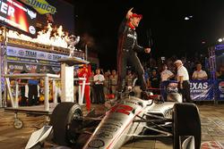 Will Power, Team Penske Team Penske Chevrolet celebra en victory lane