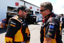 Brendan Gaughan, Richard Childress Racing Chevrolet and Shane Wilson
