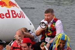 Ross Brawn, Formula One Managing Director of Motorsports at the raft race