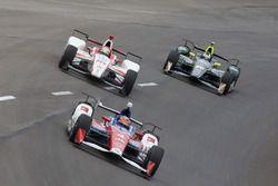 Conor Daly, A.J. Foyt Enterprises Chevrolet, Tristan Vautier, Dale Coyne Racing Honda, Ed Carpenter,