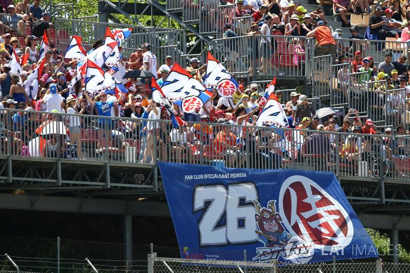Fans of Dani Pedrosa, Repsol Honda Team