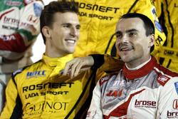 Hugo Valente, LADA Sport Rosneft, Lada Vesta; Norbert Michelisz, Honda Racing Team JAS, Honda Civic