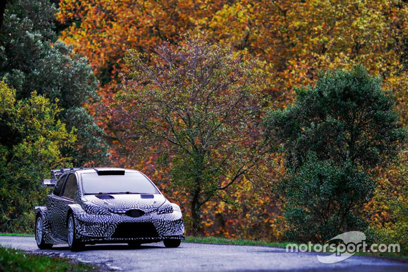 Tommi Makinen, Toyota Yaris WRC 2017