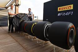 Les pneus Pirelli 2017