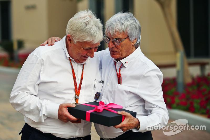 Herbie Blash, Delegado de la FIA y Bernie Ecclestone