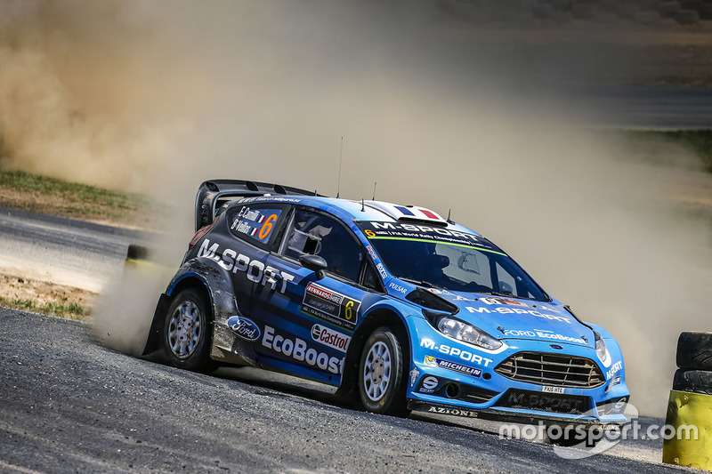 2016: Eric Camilli y Benjamin Veillas, M-Sport World Rally Team, Ford Fiesta WRC