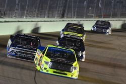 William Byron, Kyle Busch Motorsports Toyota, Matt Crafton, ThorSport Racing Toyota