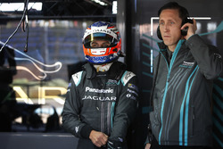 Mitch Evans, Jaguar Racing, James Barclay, Jaguar Racing Team Manager