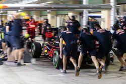 Отработка пит-стопа: Red Bull Racing