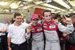 Polesitter: #8 Audi Sport Team Joest, Audi R18: Lucas di Grassi, Loic Duval, Oliver Jarvis