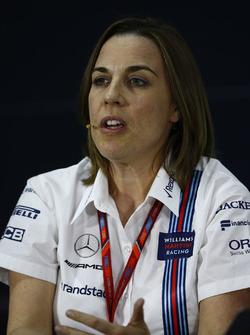 Teamchefin Claire Williams, Williams