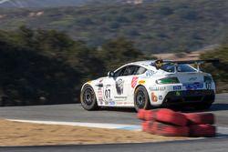 #07 Aston Martin GT4: Greg Milzcik, Brandon Davis, Derek DeBoer