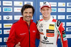 Mick Schumacher, Prema Powerteam, Dallara F317 - Mercedes-Benz with Stéphane Ortelli