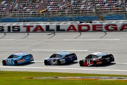Aric Almirola, Richard Petty Motorsports Ford, Danica Patrick, Stewart-Haas Racing Ford e Clint Bowy