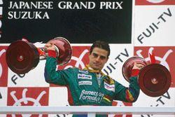 Подиум: победитель Алессандро Наннини, Benetton