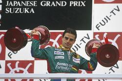 1. Alessandro Nannini, Benetton