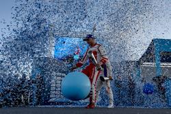 Podium: third place Felix Rosenqvist, Mahindra Racing