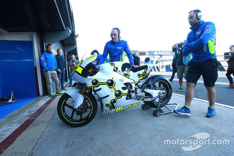 La moto d'Andrea Iannone, Team Suzuki MotoGP