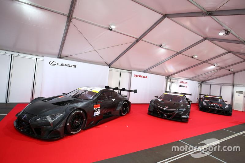 Die neuen Autos für die Super-GT-Serie 2017