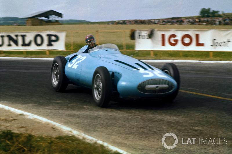 Hermano da Silva Ramos - 1956 e 1957 - 7 corridas