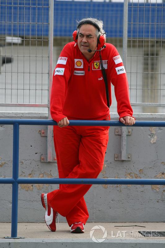 Luigi Mazzola, Gerente de equipo de pruebas de Ferrari