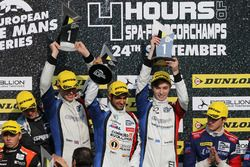 Les vainqueurs : James Allen, Gustavo Yacaman, Richard Bradley, Graff Racing