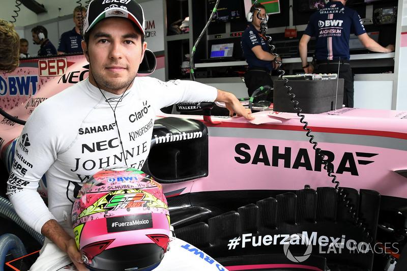 Sergio Perez mostró su apoyo a las víctimas del terremoto en su país: #FuerzaMexico