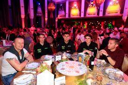 Olivier Panis, Yvan Muller, Polestar Cyan Racing, Volvo S60 Polestar TC1, Daniel Nagy, Honda Team Ze