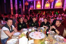 Olivier Panis, Yvan Muller, Polestar Cyan Racing, Volvo S60 Polestar TC1, Daniel Nagy, Honda Team Zengo, Honday Civic WTCC