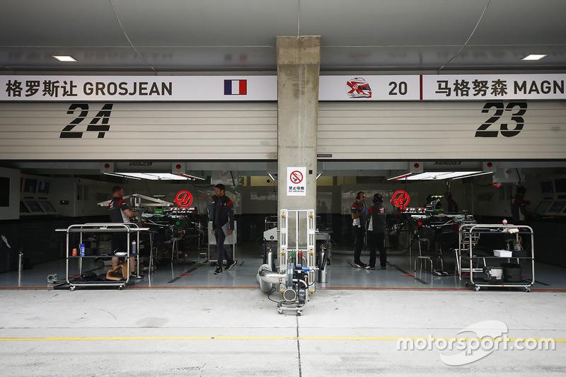 Box: Haas F1 Team