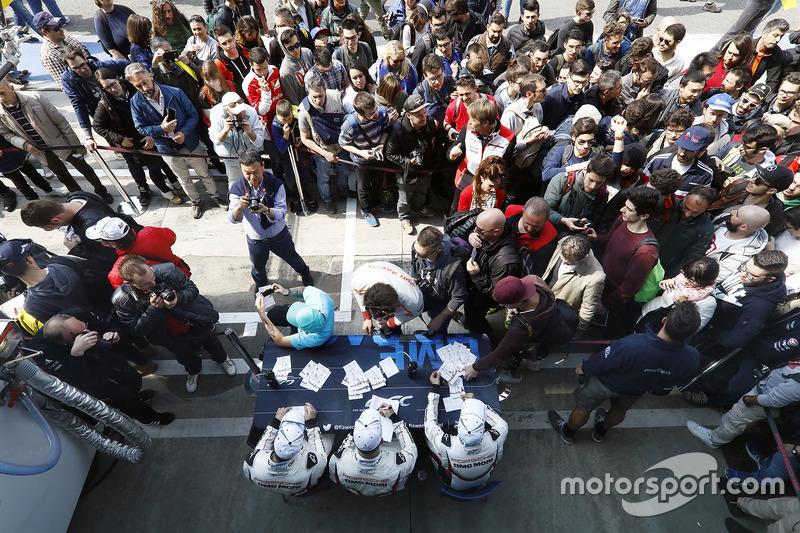 Neel Jani, Andre Lotterer, Nick Tandy, Porsche Team